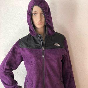 THE NORTH FACE Purple Fleece Jacket Girls XL (18)